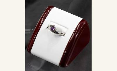 FEMININE STYLE RING  with birthstone